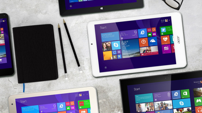 Windows-Tablets ©xtravagant - fotolia.com, Acer, Nokia/Microsoft, HP, Toshiba, Trekstor