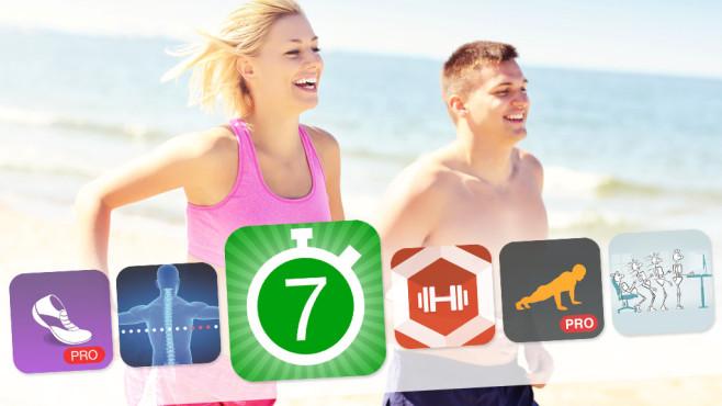 30 geniale Fitness-Apps für iOS und Android ©Kalim - Fotolia.com, Fitness Guide, Runtastic, ihanwel, Kaufmännischer Lehrmittelverlag, Plus Sports