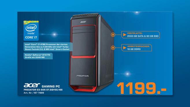 Acer Predator G3-605 ©Saturn