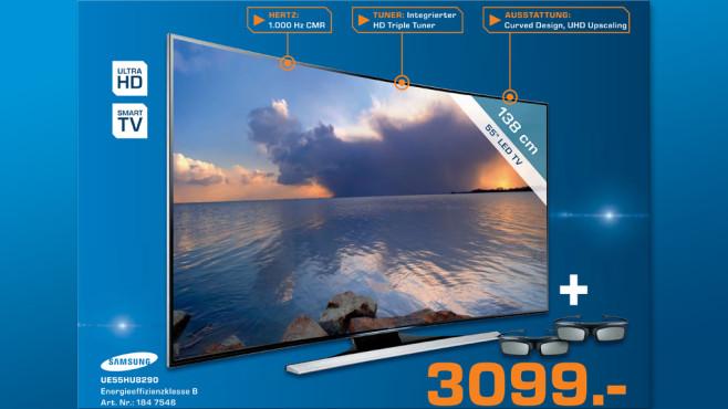 Samsung UE55HU8290 ©Saturn