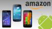 Das sind die beliebtesten Android-Smartphones bei Amazon ©Sony, Samsung, Motorola, Amazon, Google