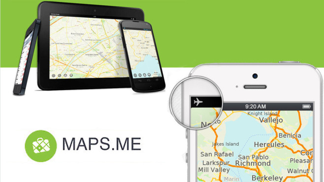 Maps.me ©MapsWithMe GmbH