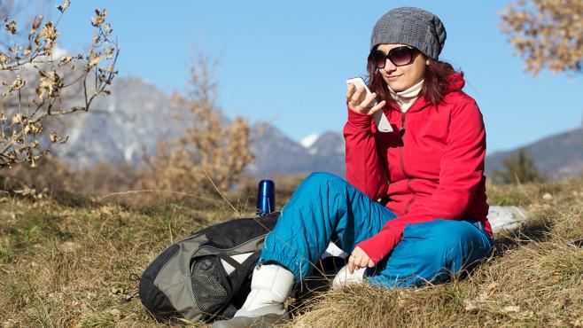 Outdoor-Apps auf dem Smartphone ©ferrerilavarialiotti - Fotolia.com