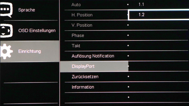 Displayport 1.2 ©COMPUTER BILD