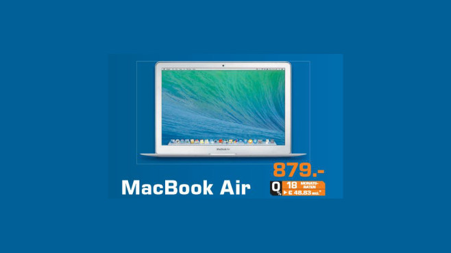"Apple MacBook Air 13"" (MD760D/B) © Saturn"