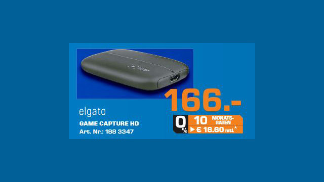 Elgato Game Capture HD © Saturn