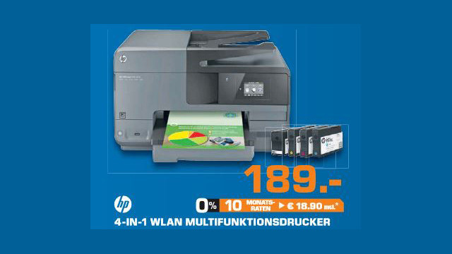 Hewlett-Packard HP Officejet Pro 8615 (D7Z36A) © Saturn