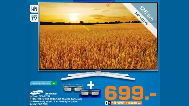 Samsung UE50H6470 ©Saturn