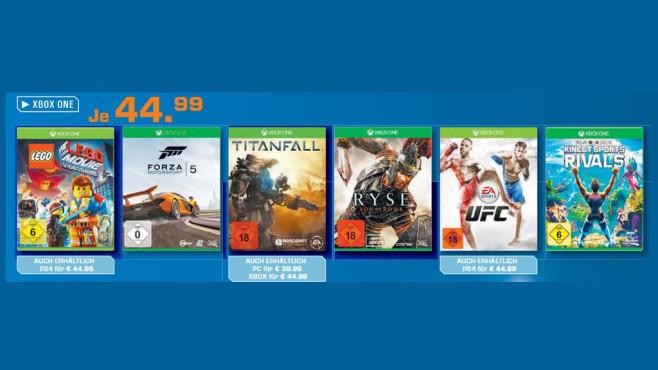 Spiele für die Microsoft Xbox One ©Saturn
