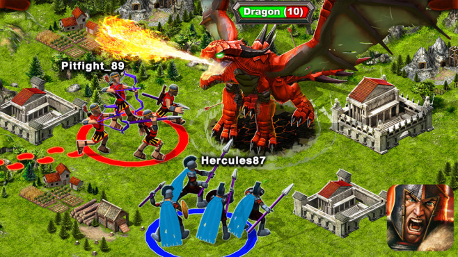 Game of War – Fire Age © Machine Zone, Inc.