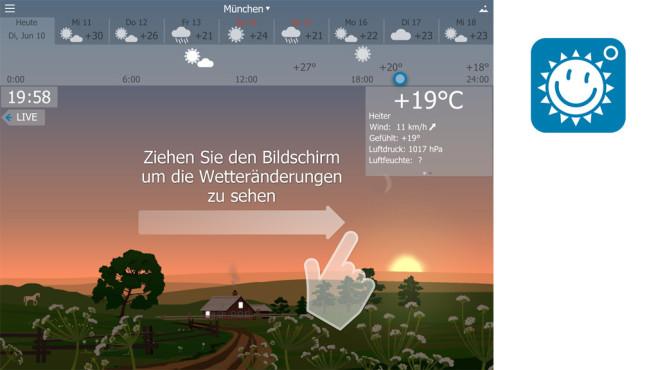 YoWindow Wetter ©RepkaSoft