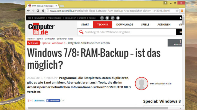 Firefox, Chrome: Mit HTTP 2 surfen ©COMPUTER BILD