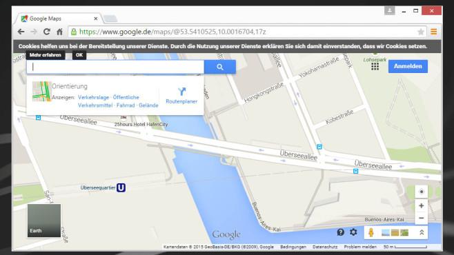 Google Maps: Kartenmaterial für alle ©COMPUTER BILD