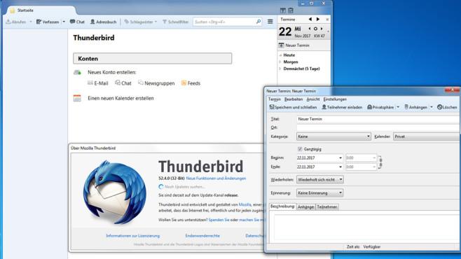 Thunderbird: An Termine erinnern lassen ©COMPUTER BILD