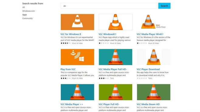 Windows Store Scamware VLC Media Player © COMPUTER BILD