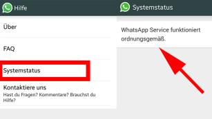 WhatsApp down: Was tun? ©WhatsApp, COMPUTER BILD