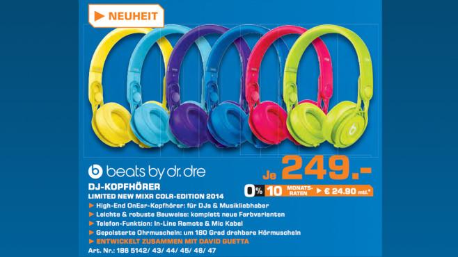 Beats By Dre Mixr ©Saturn