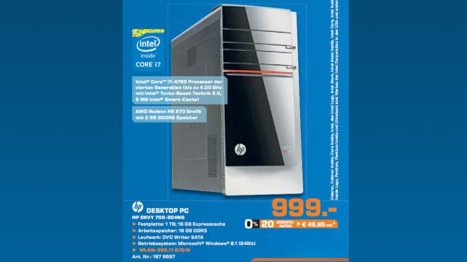 Hewlett-Packard HP ENVY 700-304ng (G9A52EA) ©Saturn