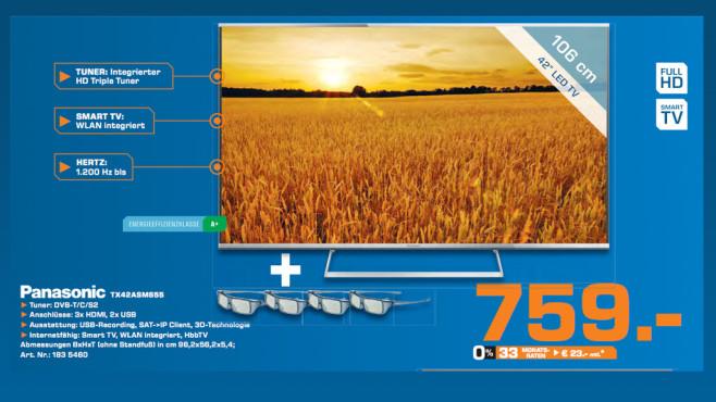 Panasonic TX-42ASM655 ©Saturn