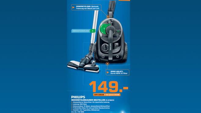 Philips FC 8769/91 Power Pro Eco ©Saturn