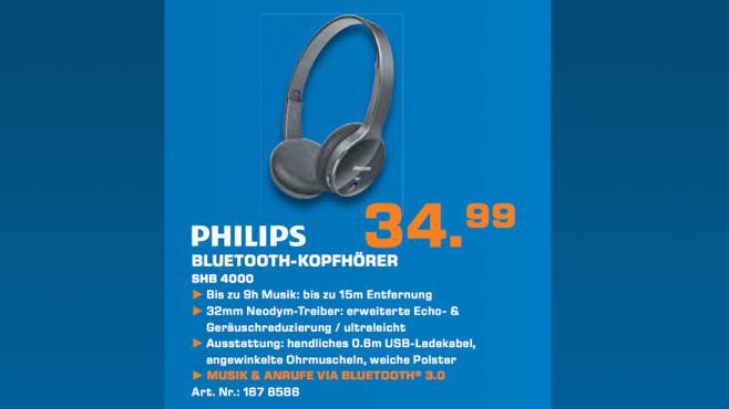 Philips SHB4000 ©Saturn