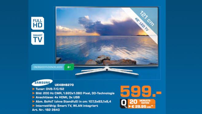 Samsung UE48H6270 ©Saturn