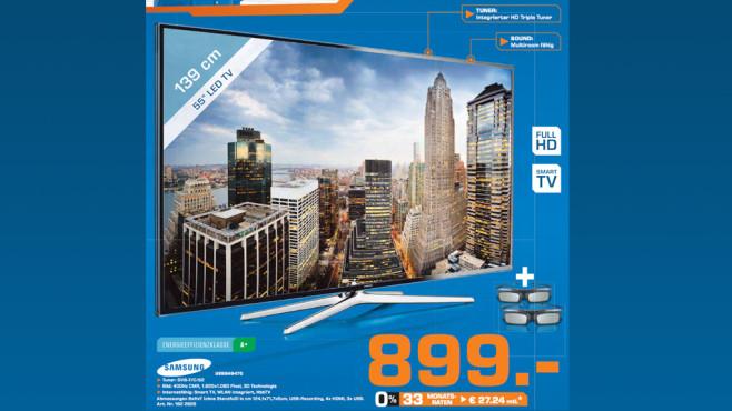 Samsung UE55H6470 ©Saturn
