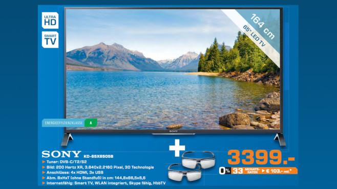 Sony KD-65X8505 ©Saturn