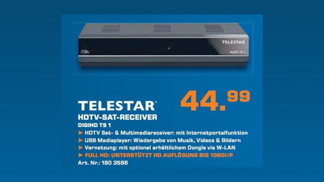 Telestar digiHD TS 1 ©Saturn