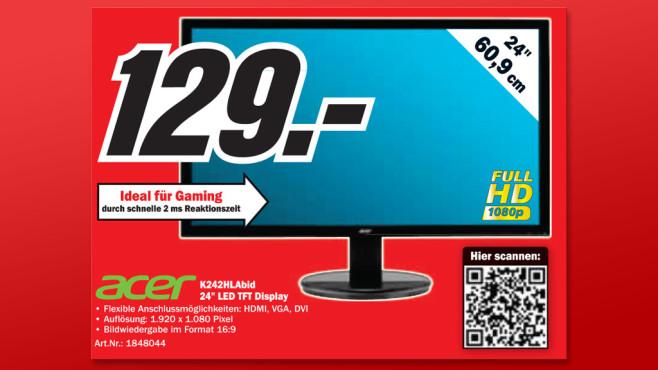 Acer K242HLAbid ©Media Markt