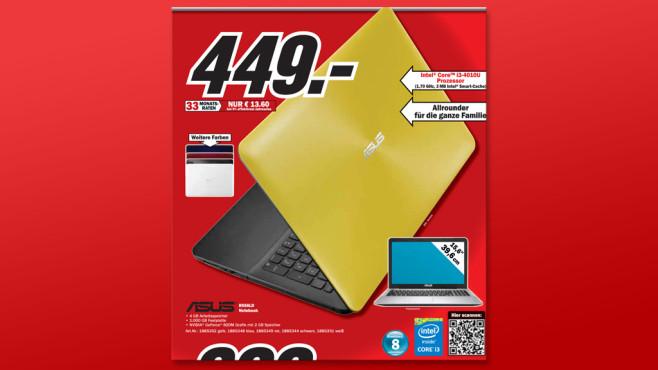 Asus R556LD-XX220H ©Media Markt