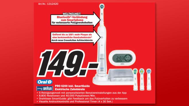 Oral-B Pro 6200 ©Media Markt