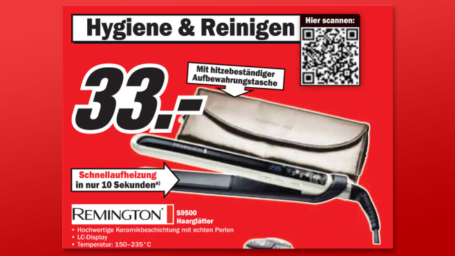 Remington S9500 © Media Markt