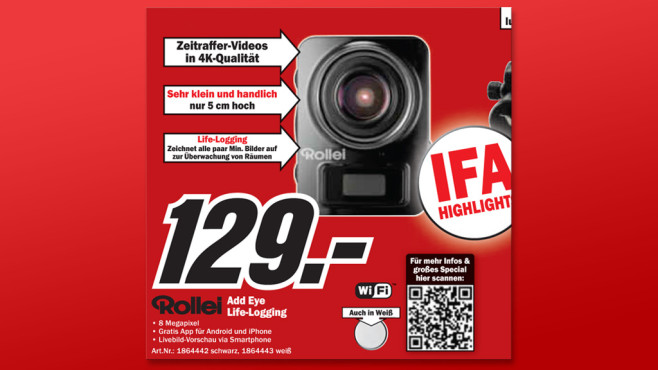 Rollei Add Eye Cam © Media Markt