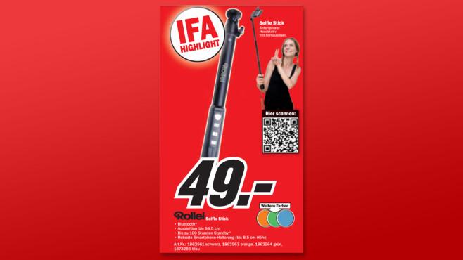 Rollei Selfie Stick ©Media Markt