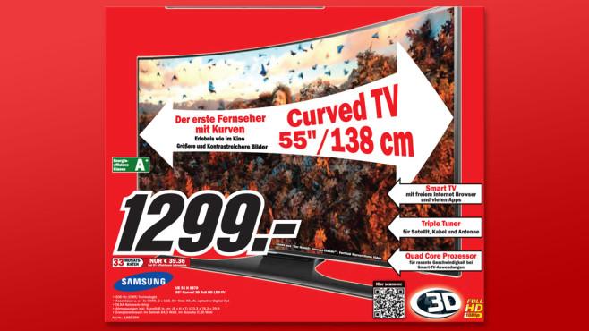 Samsung UE55H6870 ©Media Markt