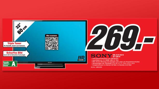 Sony KDL-32R415B ©Media Markt