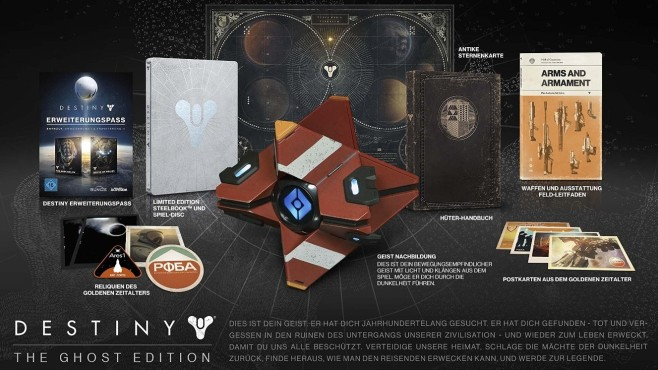 Destiny – Ghost Edition: Inhalt © Activision
