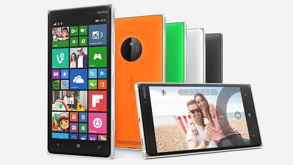 Smartphone Microsoft Lumia 830 ©Microsoft