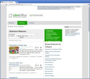 LibreOffice-Extensions (Erweiterungen)