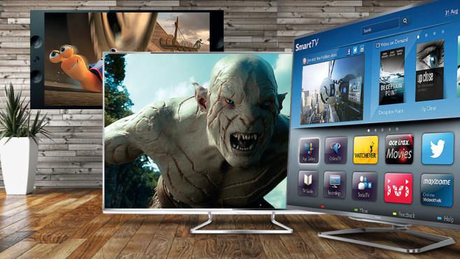 Die besten Fernseher ab 1.000 Euro ©3darcastudio - Fotolia.com, Philips, Panasonic, Sony
