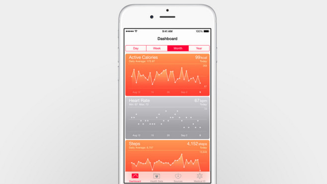 Health App © Apple