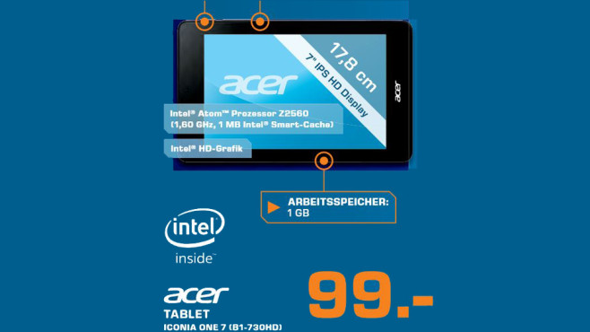 Acer Iconia One 7 8GB © Saturn