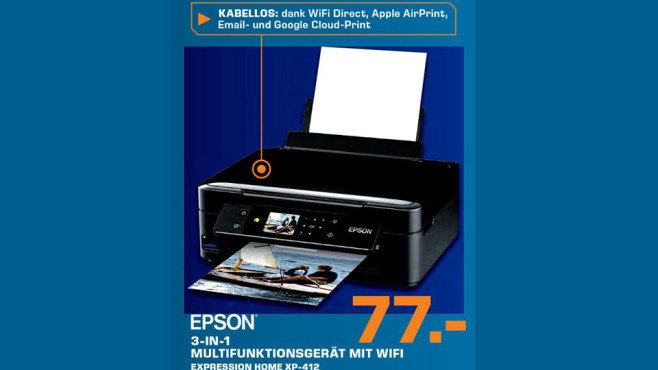 Epson Expression Home XP-412 © Saturn
