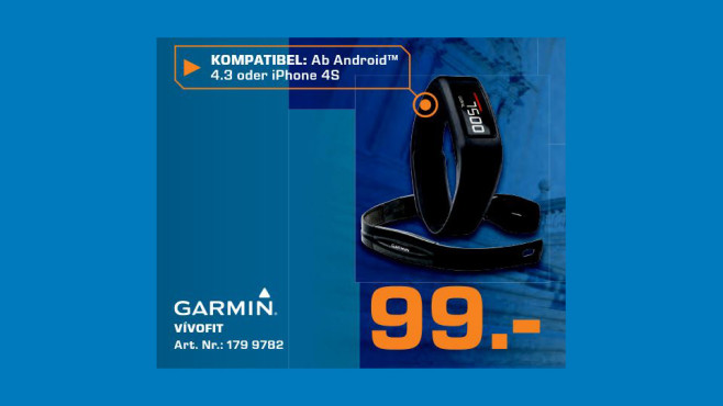 Garmin Vivofit © Saturn