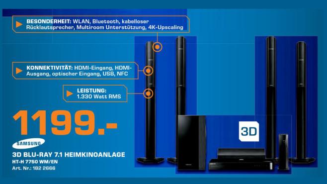Samsung HT-H7750WM ©Saturn