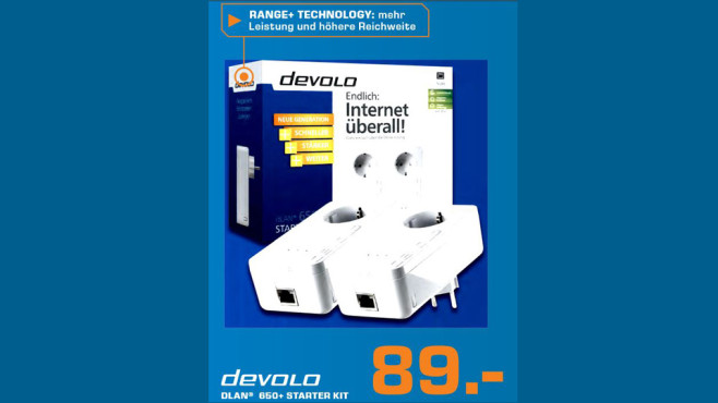 devolo dLAN 650+ Starter Kit © Saturn