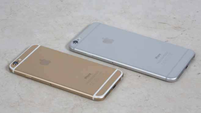 Apple iPhone 6 und iPhone 6 Plus © COMPUTER BILD