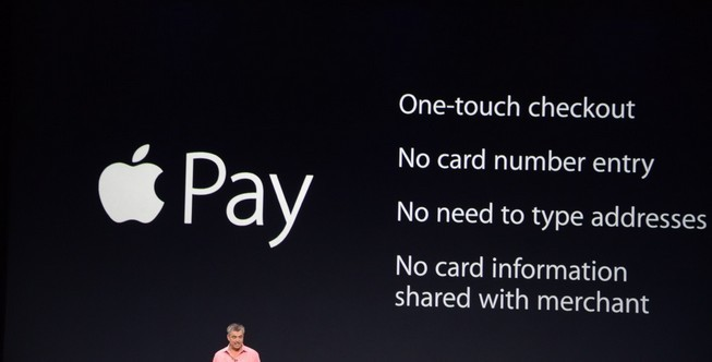 iPhone 6 Plus Apple Pay © Apple