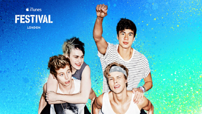 iTunes Festival: 5 Seconds of Summer © Apple